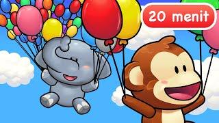 Lagu Anak Anak | Balonku dan Lainnya 20 Menit