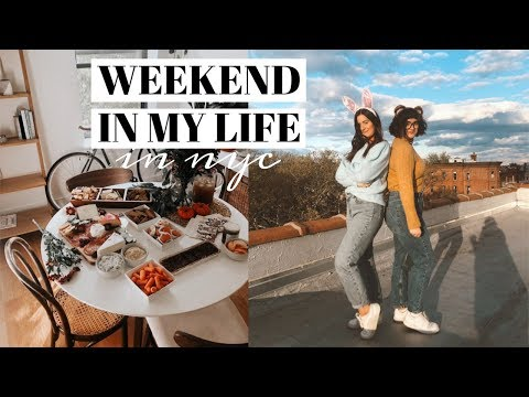 NYC WEEKEND IN MY LIFE!  Girl Gang Fall-Brunch, King Princess Concert + More Mp3