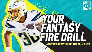 "NFL Week 15 Fantasy Football Advice | ""Your Fantasy Fire Drill"""