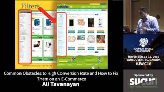 JWC 2016 - Common Obstacles to High Conversion Rate... - Ali Tavanayan thumbnail