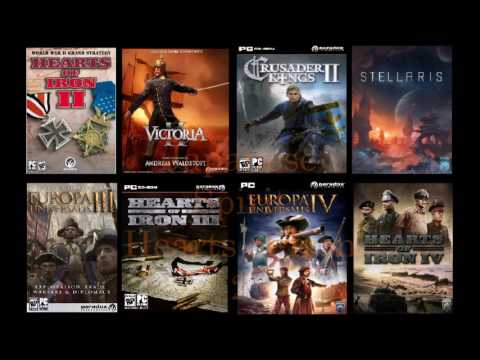 Some of the Best Music from Andreas Waldetoft and Paradox Interactive