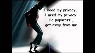 Privacy - Michael Jackson - Lyrics