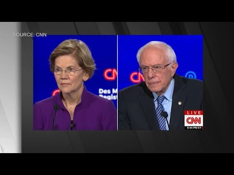 Bobby Gunther Walsh - Questioner completely ignores Bernie Sanders' answer.  Embarrassing.