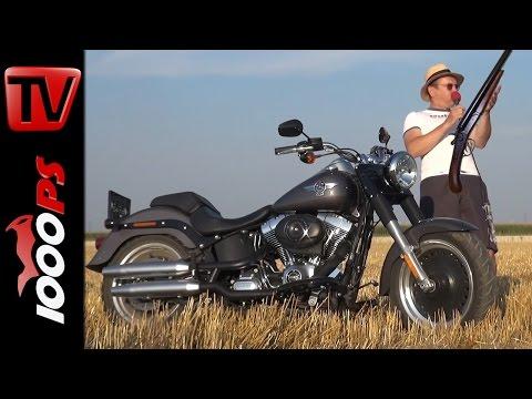 Harley-Davidson Fat Boy 2015 Test | Terminator | Vulkan | Gips