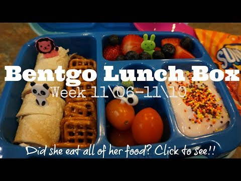 🍱 Bentgo Box Lunch Ideas  [ Week 11/6 - 11/ 10 ] CLICK 👆🏼 TO SEE WHAT SHE ATE!