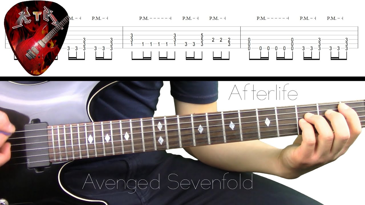 Afterlife Guitar Lesson - Avenged Sevenfold (with tabs)