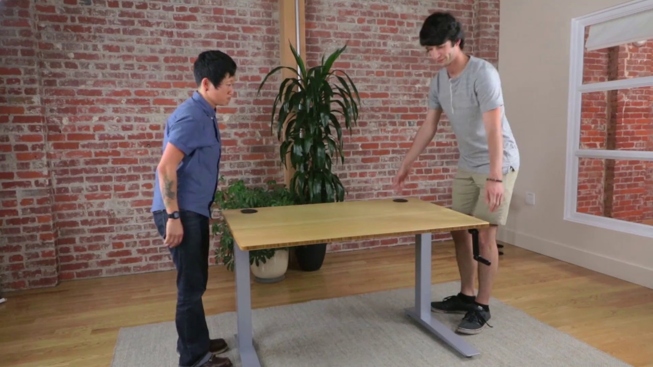 How To Assemble Your Jarvis Crank Powered Standing Desk