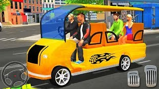 Smart Taxi Shopping Mall Car Driving Sim Rickshaw - Best Android GamePlay