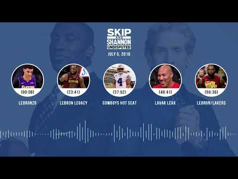 UNDISPUTED Audio Podcast (7.5.18) with Skip Bayless and Shannon Sharpe | UNDISPUTED