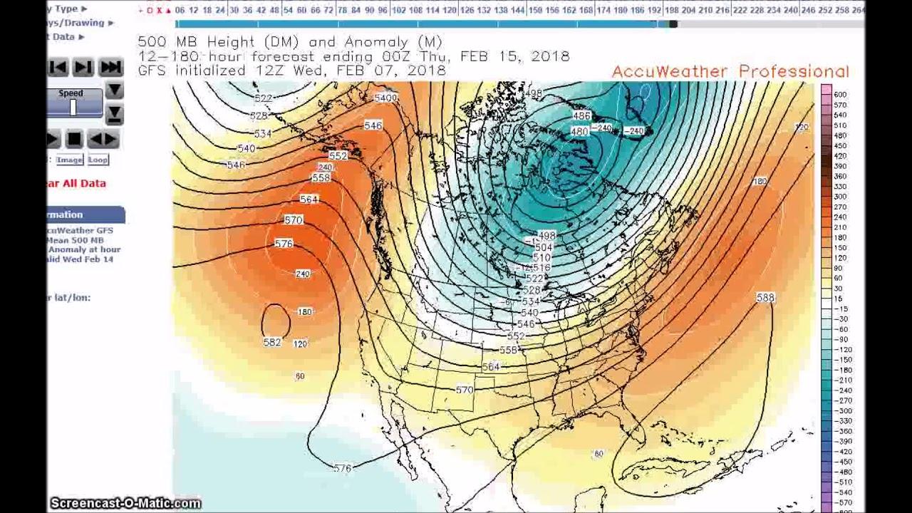 hight resolution of long range weather forecast