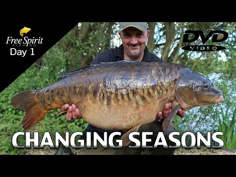 CARP FISHING - FREE SPIRIT CHANGING SEASONS (Day 1)