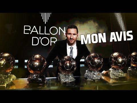MON AVIS SUR LE BALLON D'OR !