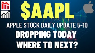 $AAPL APPLE STOCK DROPPING TODAY, WHERE TO NEXT?? Apple Stock Analysis   Live Wellthy Stocks