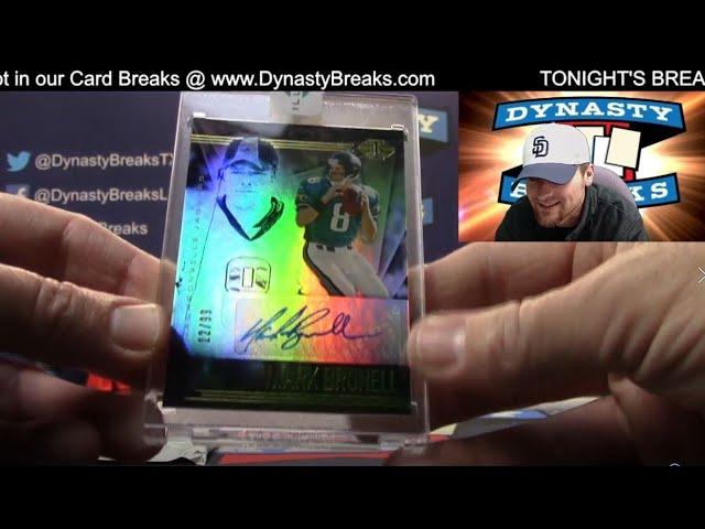 2020 Illusions Football 8 Box Case Break #6   Sports Cards