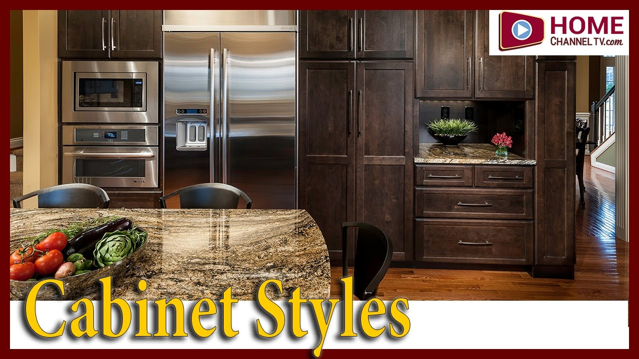 various cabinet types styles quick overview youtube - Types Of Kitchen Cabinets