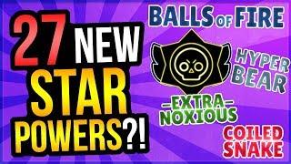 27 New Star Powers  New Brawler Huge Update For Brawl Stars