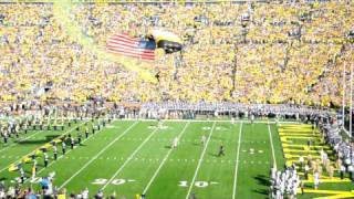 Michigan Stadium Game Ball Delivery