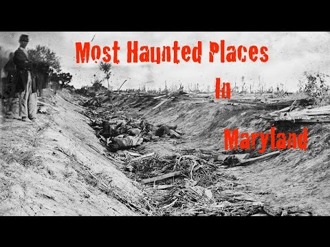 Most Haunted Places In Maryland