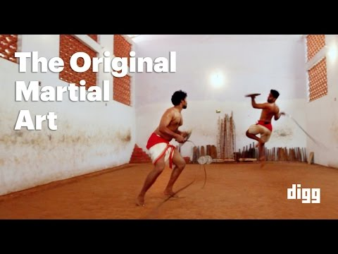 Kalaripayattu: The First Martial Art