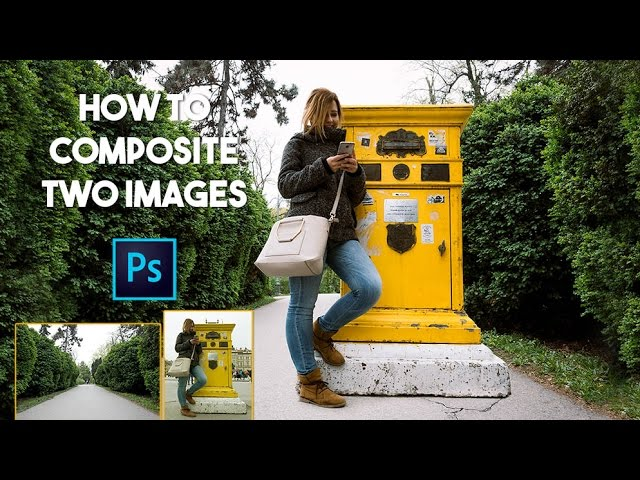 How To Composite Photos In Photoshop | Basics