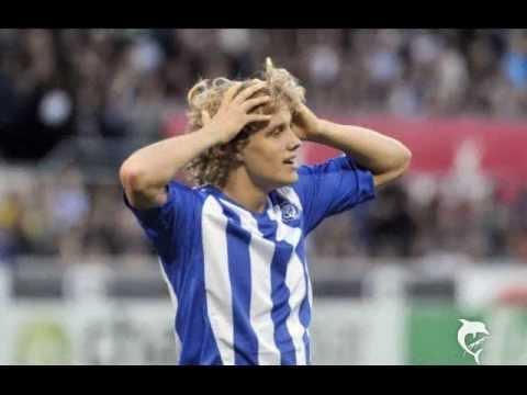 Pukki auf Schalke 1. Training von Teemu Pukki