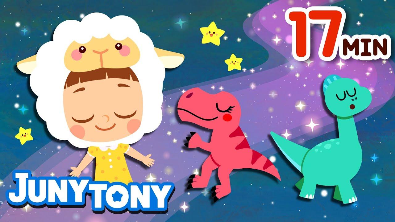 𝙉𝙀𝙒 Lullabies🌛 | Mozart's Lullaby +17minute🎵 | Bedtime Songs for Kids | Bedtime Routines |  JunyTony