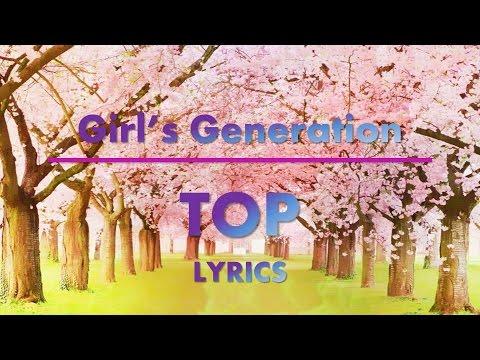 [Girls' Generation] TOP Lyrics