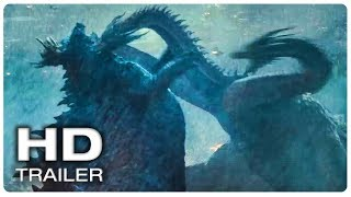 GODZILLA 2 Final Trailer (NEW 2019) Godzilla King Of The Monsters Movie HD