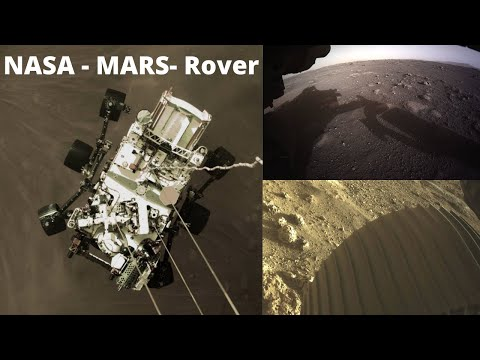 NASA's Perseverance rover Send its first color images lands on Mars | NOW SAFE ON MARS !
