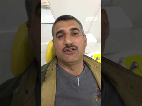Patient testimonial from Iraq - Root Canal & Bridge Procedure By Dr.Vikrant