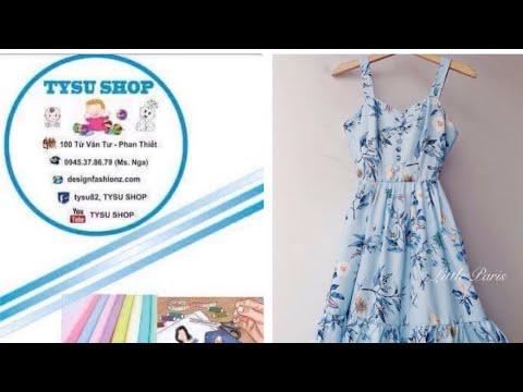572_thiểt kế áo đầm-dạy cắt may online miễn phí-tysushop
