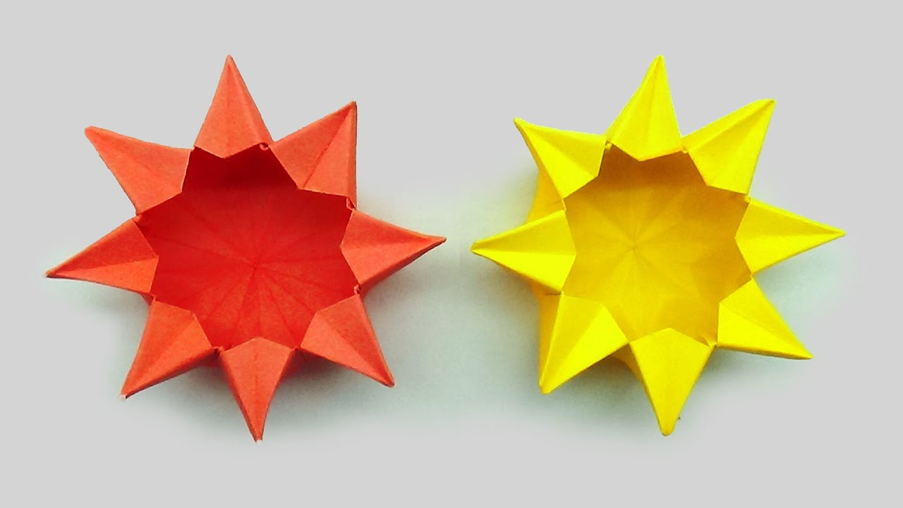 How to make a five-pointed lovely origami star box: page 2 | 720x1280
