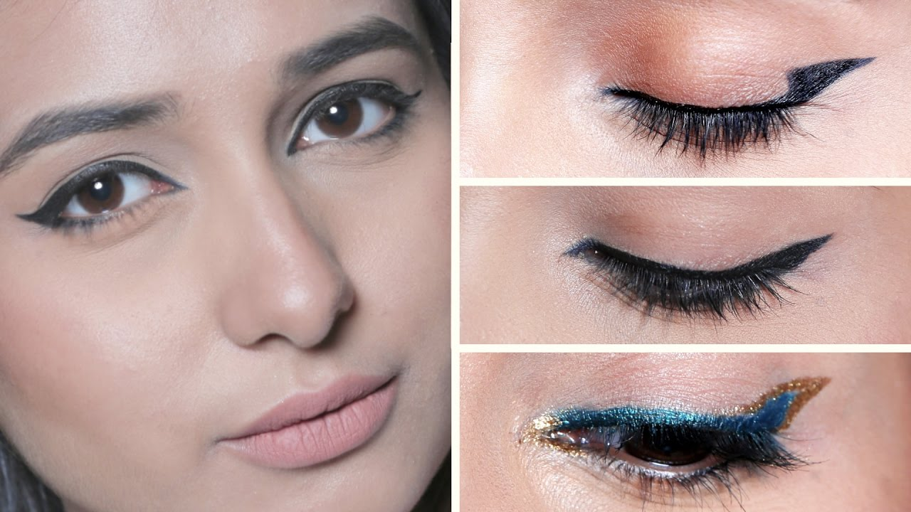 EVERYDAY Eyeliner Tutorial For Beginners  Quick and Easy Makeup Look   Tips by Glamrs.com