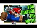 You Control the Music! Super Mario Maker