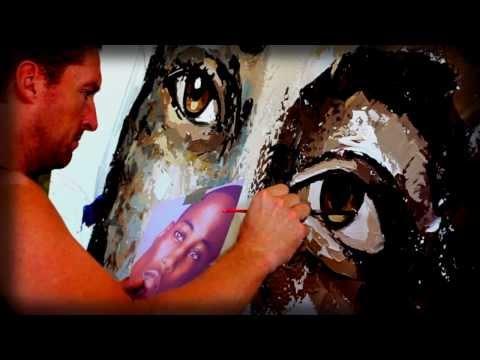 PETER TERRIN : UNIQUE STYLE : PORTRAIT ART : TIME LAPSE