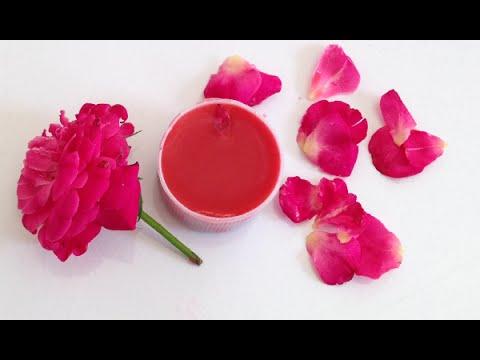 Kết quả hình ảnh cho Làm son môi bằng hoa râm bụt