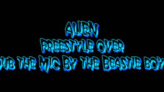Freestyle Rap to Dub the mic instrumental