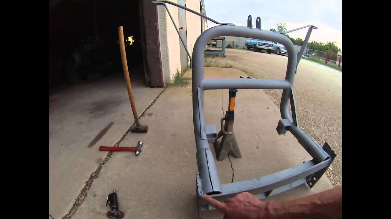 Meyers Ez Mount Snow Plow Rusted Frame Removal Youtube Wiring Harness Diagram For 88 Chevy