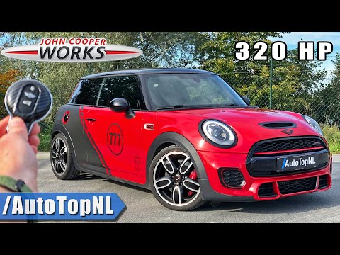 320HP MINI JCW *FLAMETHROWER* | REVIEW POV on AUTOBAHN NO SPEED LIMIT by AutoTopNL