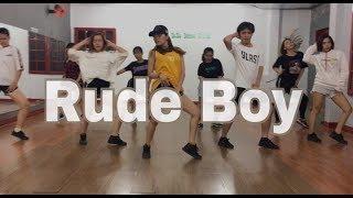 Rihanna - Rude Boy (Remix) Dance Cover @NyDanceStudio