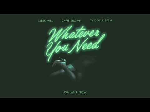 Meek Mill  Whatever You Need feat Chris Brown and Ty Dolla $ign  AUDIO