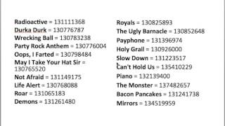Every Roblox Music Codes: 2 (All in Description + Bonus codes)