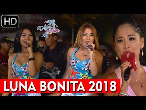AGUA BELLA Y KATY JARA - LUNA BONITA .. DOMINGOS DE FIESTA TV PERU 2018 (HD 1080p FULL AUDIO)