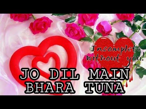 |JO DIL MAIN BHARA TUNA| Hindi Said Ringtone Whatsapp Status For Kwai Video Dj Mix Song Ringtone