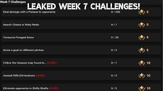 WEEK 7 CHALLENGES LEAKED | VBUCKS GIVEAWAY | Fortnite Battle Royale
