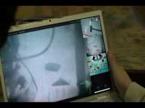 Dalhousie Privateers, 2008 ROV. Scrolling Through Cameras