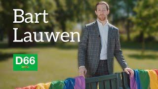 Bart Lauwen - Kandidaat Lijsttrekker D66 Breda