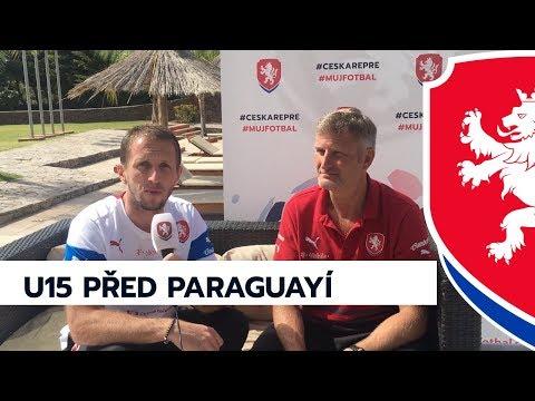 U15: Trenér Barák před duelem s Paraguayí
