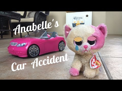 Beanie Boo's: Anabelle's Car Accident!
