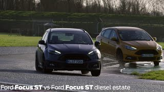 2015 Focus STs go head-to-head at Castle Combe Thumb